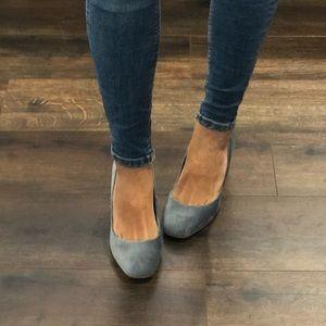 Zara blue heels size 38